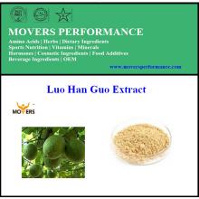 Extracto natural puro de Luo Han Guo (extracto de Momordica Grosvenori, Mogrosides)