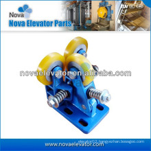 Elevator Rolling Guide Rail Shoes, Elevator Shoes for Elevator Cabin and Counterweight