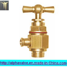 Válvula angular de latón para el agua (a 0142)