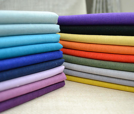poly poplin dyed fabric