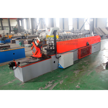 metal roller shutter door rolling machine