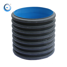 large diameter drainage material hdpe plastic drain and sewer pipe