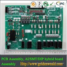 Fábricas de PCBA montagem de alumínio PCB DIP SMT montagem de pcb eletrônico,