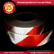 Camión vehículo adhesivo vinilo reflexivo prismático cinta
