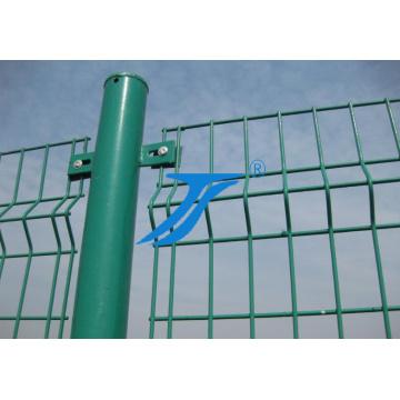 Гнуть 3D ПВХ покрытием проволоки сетка Заборная