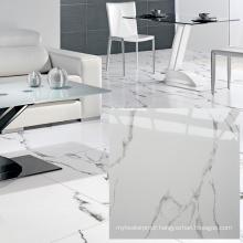 China White Volakas 600X600mm Ceramic Tile Flooring Prices, Indonesian Marble Tiles