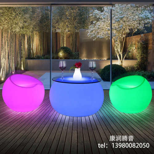 Luces LED para sillas al aire libre