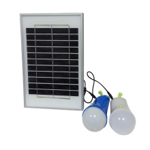 5W Solarpanel Set camping Laterne