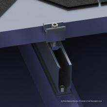 Kit de montage de panneau solaire pour toit court en tôle trapézoïdale
