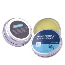 Custom Private Label OEM Organic Healing CBD Balm Pain Relief Hemp Balm