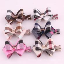 Fashion Stripe Butterfly Bow Hair Clip (BOW-02)