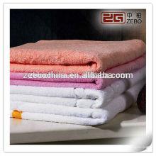100% Baumwollqualität Großhandelspreis saugfähige Badetücher
