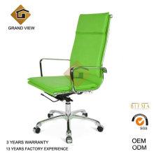 Cuir vert haute qualité siège pivotant et inclinable (GV-OC-H305)