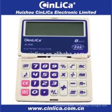 JS-2008 8 digit big display pocket calculator with timer function