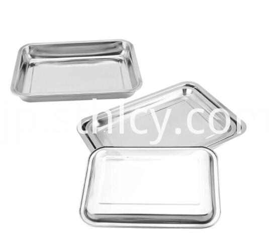 Stainless Steel Fast Food Tray