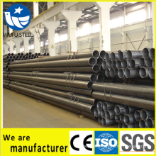 welded/erw carbon black fitting drainage pipe