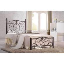 Cama simple de madera, muebles de dormitorio