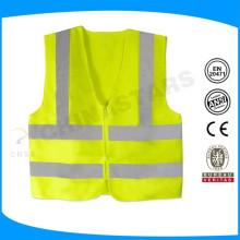 Maßgeschneidertes Logo 100% Polyester Licht gewichtet Training reflektierende Weste