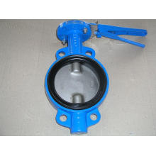 Wafer Type Double-Axis Butterfly Valves with Viton Seat