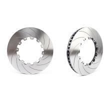 "china factory high quality auto parts brake disc 330*28mm 17""rim wheel"