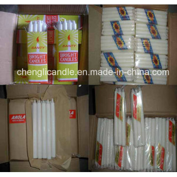 Wholesale Cheap White Household Candle in Bulk