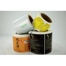 etiqueta personalizada PP PE PET impressão etiqueta de etiqueta