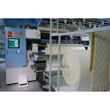 2016 de alta velocidad automatizada multi-aguja colchón acolchado a máquina con Ce aprobada