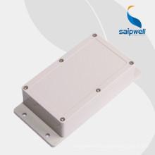Boîtier en plastique de carte PCB de boîte d'injection en plastique de haute qualité de sortie d'usine Saipwell avec la bride 158 * 90 * 46MM