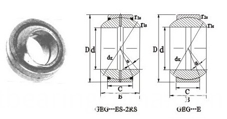 Radial Spherical Plain Bearings GEG-E Series