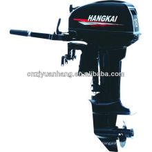 Short shaft 2-stroke 18hp HANGKAI Outboard Motor for Inflatable Boat