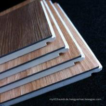 Einfach zu installierende PVC Laminatboden WPC Laminatboden Holzmaserung Laminatboden Gute Qualität