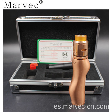 Marvec material de cobre ecigar vaping al por mayor