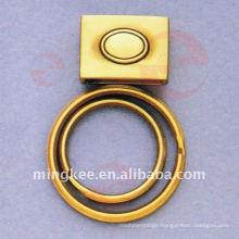 Double-Circle-Rings Handbag's Chain Accessories (Q12-173AS)