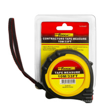 10m Steel Tape Measure with Nylon Coated Dual Blade and Magnetic Hook