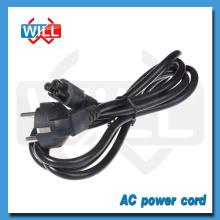Euro Schuko 230v Power Cord with Molded Plug