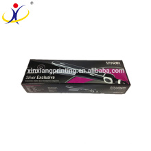Customized Size or Logo Hair Straightener Flat Iron Packaging Box with Your Logo