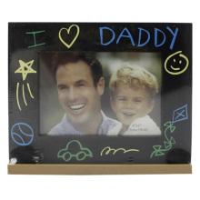 Baby 4x6inch I Love Dad Kunststoff Bilderrahmen