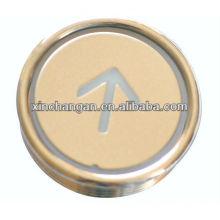 Ascensor redondo pulsador, piezas del elevador, ascensor piezas (CN100)