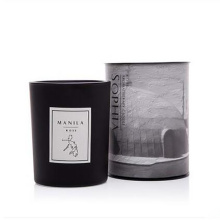 Weiße keramische Duft-Soja-Wachs-Party-Kerzen als Handwerks-Geschenk-Kerzen