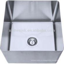 304 из нержавеющей стали производство ручной работы прямо или наклонена чаша для отсека раковина
