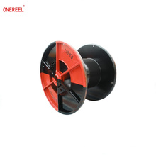 Enhanced steel cable bobbin for wire cable rope