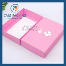 Cheap Folded Clothing Paper Box with Logo Customized