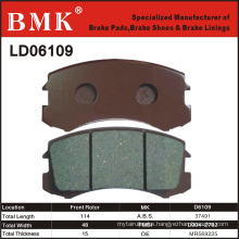 Adanced Quality Brake Pad (D6109) for Mitsubishi