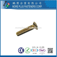 Hecho en Taiwán de alta calidad de acero inoxidable M8X1.5 Cruz empotrable cabeza plana máquina de tornillo
