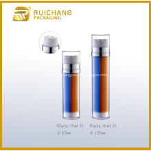Double Tube Airless Pump Bottle
