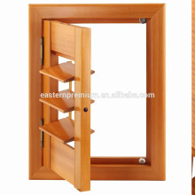 wooden red cedar louvre plantation window shutters from China