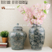 Online sale cheap price red ceramic flower vase wholesale