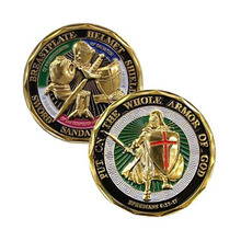 Armor God Shield St. Michael Challenge Coin