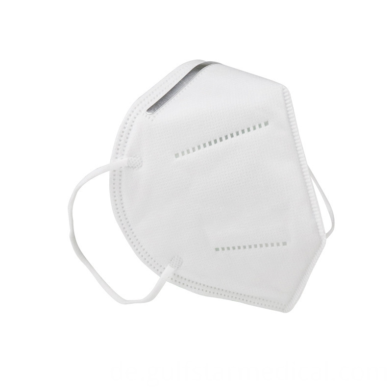 Simple white high quality N95 face mask