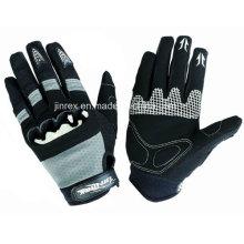 Fashion Cycling Motorcycle Motorbike Full Finger Gel Padding Glove